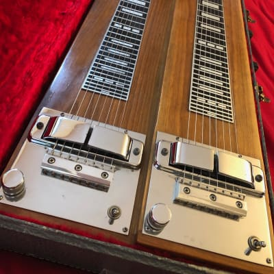 Rickenbacker 208 Double Eight 8 Nonpedal Steel Console 1960 Natural for sale