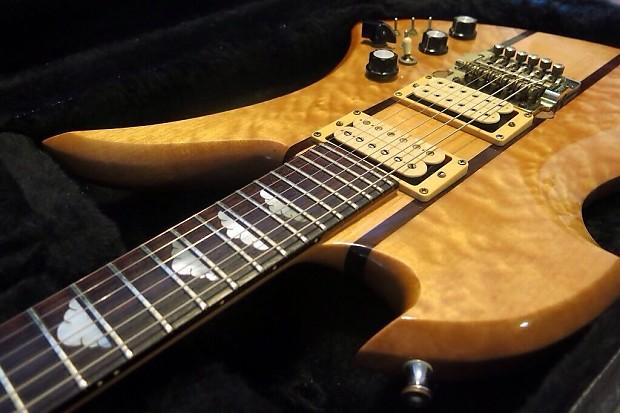 vintage 1982 bc rich mockingbird guitar curely maple reverb. Black Bedroom Furniture Sets. Home Design Ideas