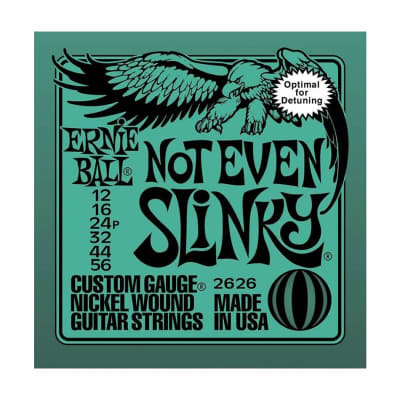 ERNIE BALL Not Even Slinky Nickel Wound Electric Guitar Strings (2626) Single Pack