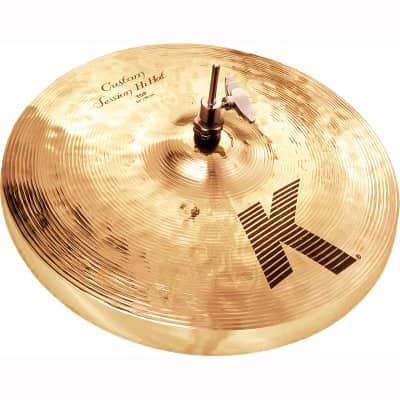 "Zildjian 14"" K Custom Session Hi-Hat Cymbals (Pair)"