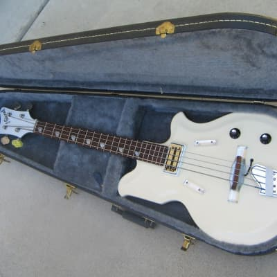 National val-pro 85 bass 1965 white for sale