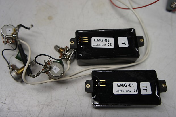 Amazing Emg 81 85 Set With Solderless Wiring Harness Reverb Wiring Digital Resources Funapmognl