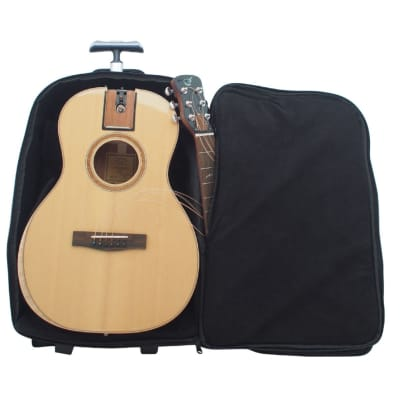 Journey Instruments FP412L Collapsible Parlor Guitar - Left-Handed, Solid Sitka & African Mahogany
