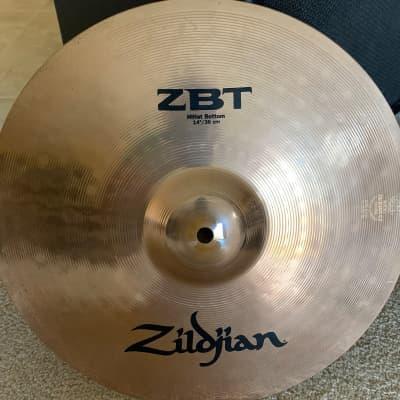 """Zildjian ZBT 14"""" high hat 2015"""
