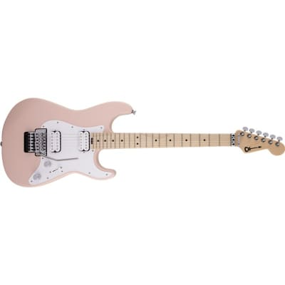 Charvel Pro-Mod So-Cal Style 1 HH FR M, Maple Fingerboard, Satin Shell Pink for sale