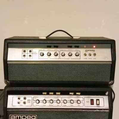 Ampeg B25-b c 1969 original vintage magnavox made usa bass guitar amplifier