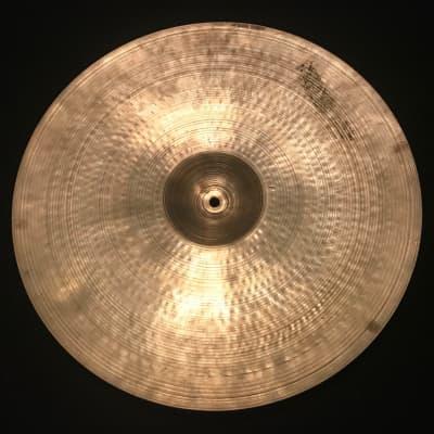 """A. Zildjian 19"""" Small Stamp Ride Cymbal 1957 - 1960"""