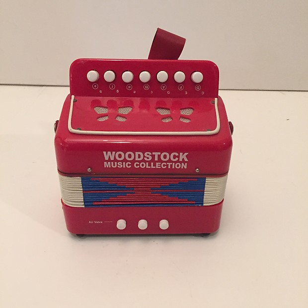 Childrens Acordion Woodstock Music Collection Button Reverb