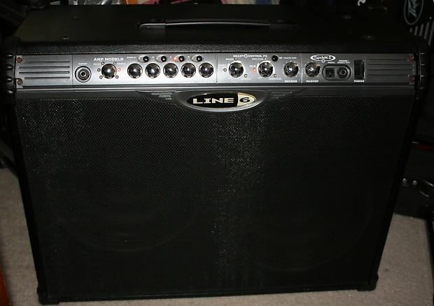 Line 6 Spider II 150 watt Modeling amplifier  2x12 Celestions Multiple  effects  150w  2