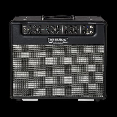 MESA/Boogie Triple Crown TC-50 1x12 Combo - Black Taurus Vinyl with Black Taurus Front Panel and Gray & Black Weave Grille