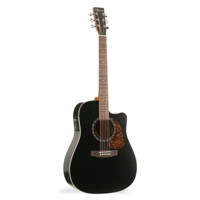 Norman B18 Cutaway Acoustic Guitar with Presys - Black for sale