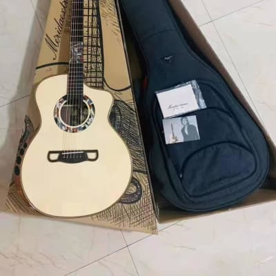 Merida Extrema Little Poison cutaway solid Spruce/Rosewood Acoustic guitar for sale