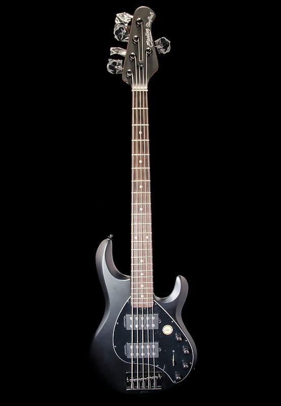 sterling stingray 5 hh five string bass guitar 2019 stealth reverb. Black Bedroom Furniture Sets. Home Design Ideas