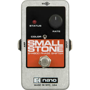 NEW! Electro-Harmonix Small Stone (NANO CHASSIS) - Analog Phase Shifter Silver