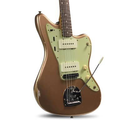 Fender Fender custom Shop '62 Jazzmaster In Firemist Gold /Matching Headstock 2020 for sale