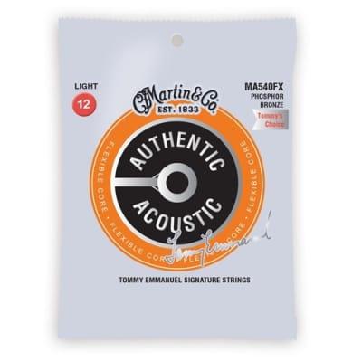 Martin MA540FX Tommy Emmanuel Flex Core Acoustic Strings, .012 - .054