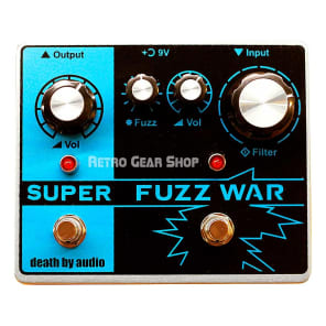 Death By Audio Super Fuzz War Tremolo/Fuzz 2017