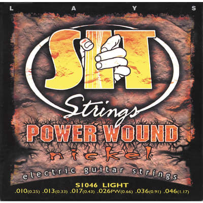 S.I.T. String S1046 Light Nickel Wound Electric Guitar String for sale