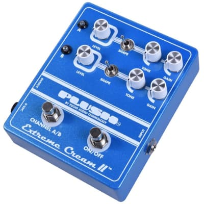 Fuchs Plush Extreme Cream II Double Overdrive Pedal for sale