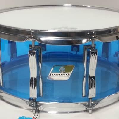 Ludwig  LS903VXX55 Vistalite 6.5x14 Snare Drum -Blue