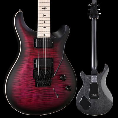 PRS Paul Reed Smith Ltd Ed Dustie Waring CE24, Waring Burst Satin 010 7lbs 14.3oz for sale