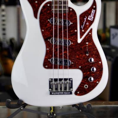 Burns Marquee Bass Reissue Shadows White (used) for sale
