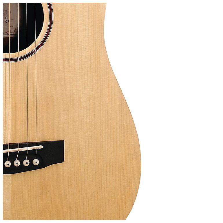 b848b56fd6 Cort Earth Series Earth-Mini Adirondack 3/4 Acoustic / Electric Guitar - Open  Pore w/ Gig Bag