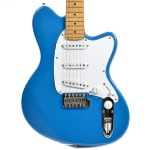 Ibanez TM330M-BLB Talman Standard 300 Series SSS Electric Guitar w/ Tremolo Bright Metallic Blue w/ Maple Fretboard
