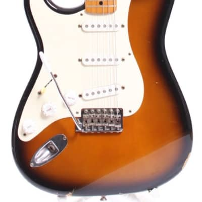 1999 Fender Stratocaster '57 Reissue lefty sunburst for sale