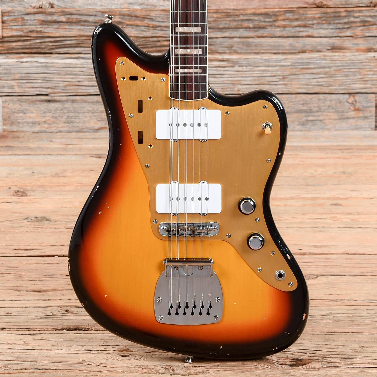 Fender Jazzmaster / Coronado XII Sunburst 1960s