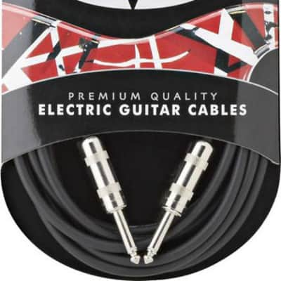 EVH Eddie Van Halen Series Premium Electric Guitar Cable, Straight Ends, 14' ft. for sale