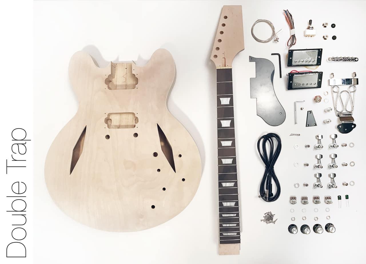the fretwire diy electric guitar kit semi hollow diamond reverb. Black Bedroom Furniture Sets. Home Design Ideas