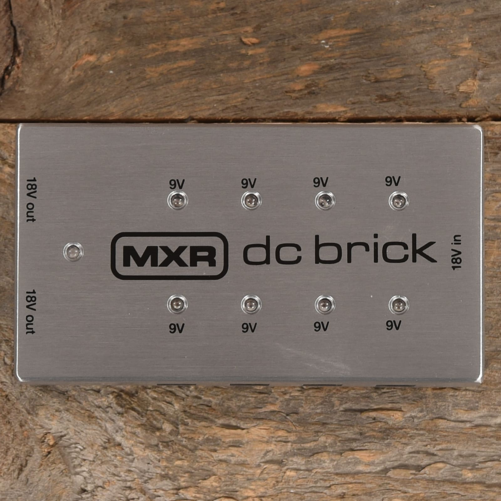 Dunlop MXR DC Brick Effects Pedal Power Supply M237 DCB10 NEW w 2 PATCH CABLE