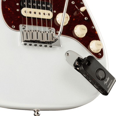 Fender Mustang Micro is a complete personal guitar amplifier featuring a wide selection of tones