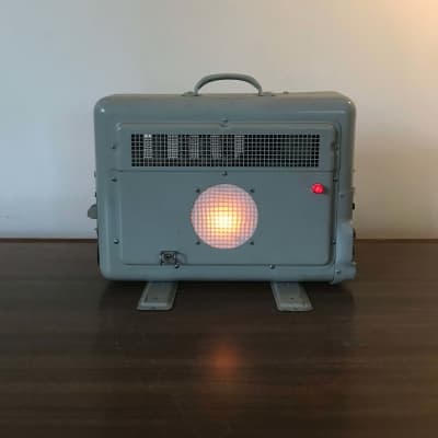 Austen Hooks  Bell and Howell filmosound  'Space Heater' Military Projector Amp