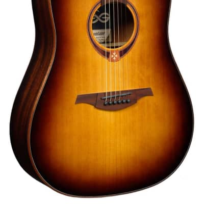 LAG Tramontane T118D-BRS Dreadnought Acoustic Guitar. Brown Shadow