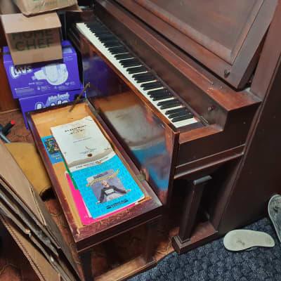 Vose & Sons Piano 1926 Dark Finish