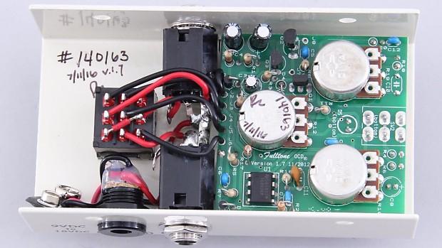 Fulltone OCD V7 Overdrive Guitar Effects Pedal PD-1759 on