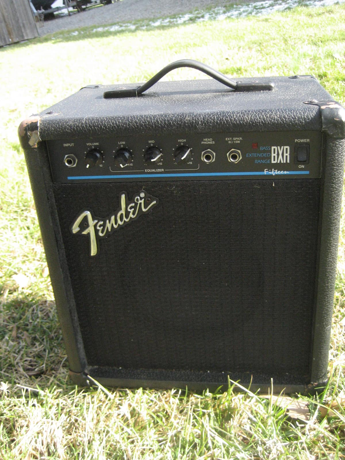 fender bxr 15 bass guitar amp made in mexico good practice reverb. Black Bedroom Furniture Sets. Home Design Ideas