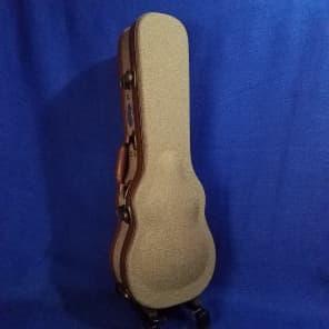 Mims Ukes: Ohana Concert Ukulele Hard Case Olive Twill UOT-24 Uke Accessory