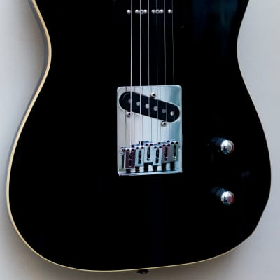 2004 Fender Japan Aerodyne Limited Edition Bound Black Telecaster P90 - CIJ RARE for sale