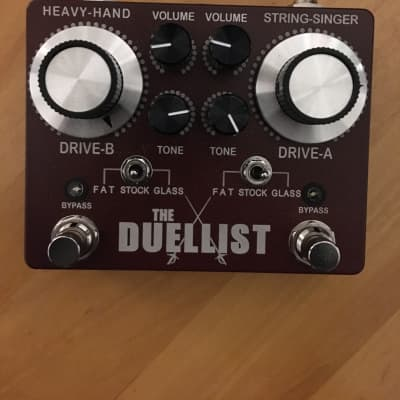 King Tone Guitar Duellist Red