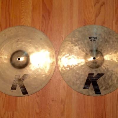 """Zildjian 15"""" K Series EAK Hi-Hat Cymbals (Pair) 1982 - 1988"""