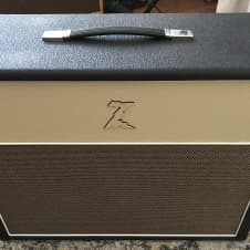 Dr Z 2x12 Open Back Cabinet Black and Blonde