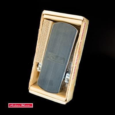 1970's Fender Fuzz Wah w/ original Box Instructions Schematics