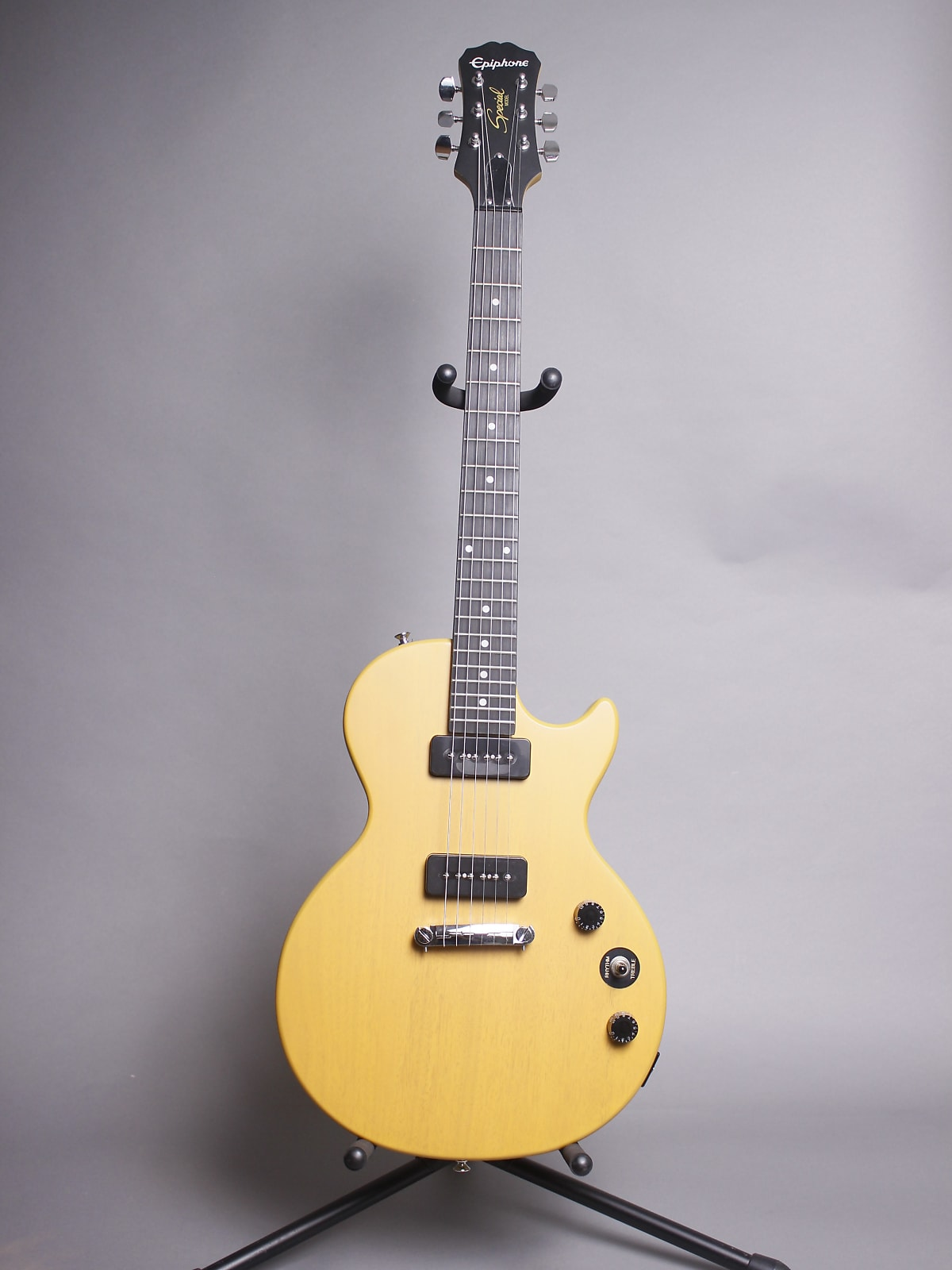 Epiphone Les Paul Special P-90 Worn 2019 Tv Yellow