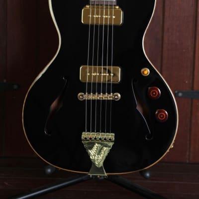 B&G Crossroads Series Little Sister Midnight Ocean Semi-Hollow Electric Guitar for sale
