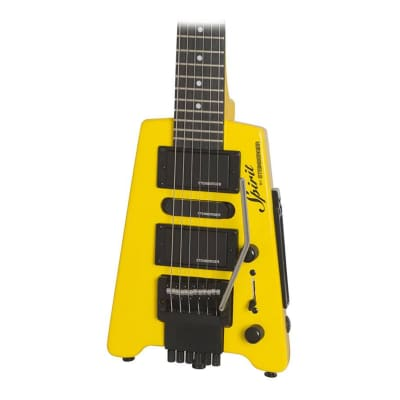 Steinberger Spirit GT-PRO Deluxe Electric Guitar in Hot Rod Yellow