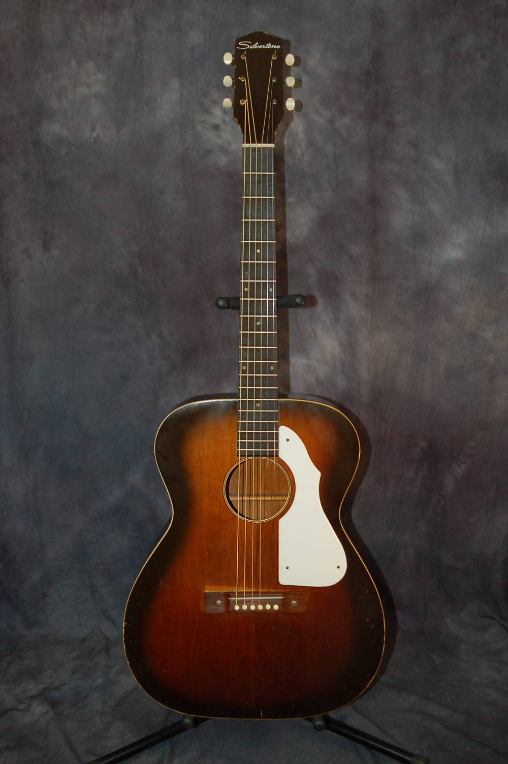 Vintage Rare Silvertone 600 Series Model 1214 Acoustic