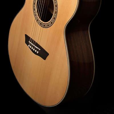 Washburn WG7S Harvest Series Grand Auditorium Solid Sitka Spruce Mahogany 6-String Acoustic Guitar